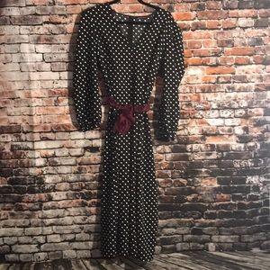 Zara Woman polka dot jumpsuit